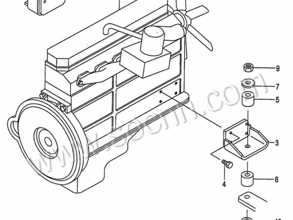 Cat 3126 Engine Parts Manual